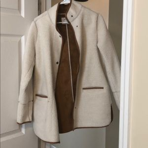 Sherpa riding coat / jacket